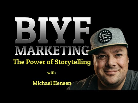 The Power of Storytelling - The power of storytelling with Michael Hensen