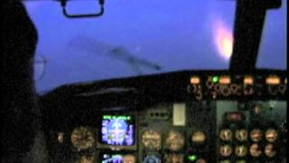 Bad Weather Landing Brussels (737-500)