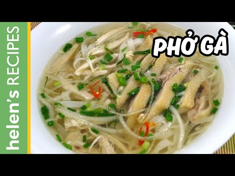 How to make PHO GA (Vietnamese Chicken Noodle Soup) - YouTube