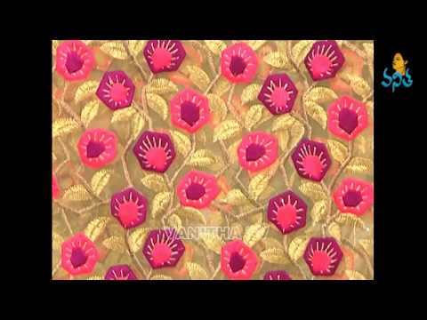 Designing Fabric Materials Sarees