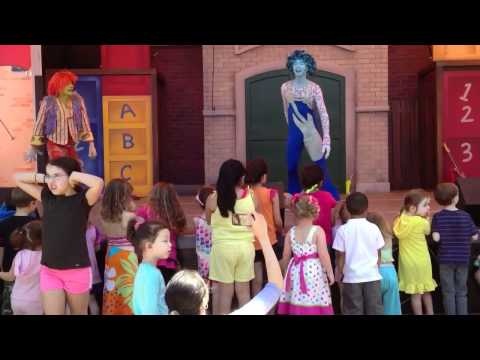 Get on the Bus with the Doodlebops at Sesame Place