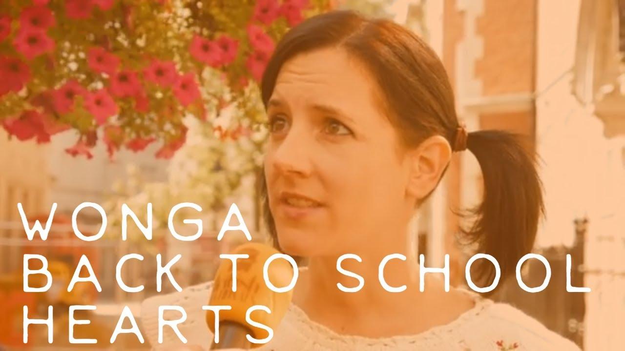 Wonga, Back To School, Hearts