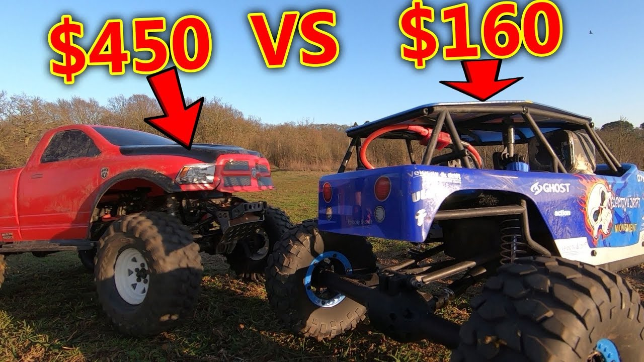 cheap vs expensive rc crawler car test youtube. Black Bedroom Furniture Sets. Home Design Ideas