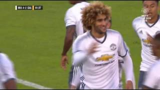 Marouane Fellaini Goal   Manchester United vs Galatasaray 5-2 Friendly Match 2016  HD