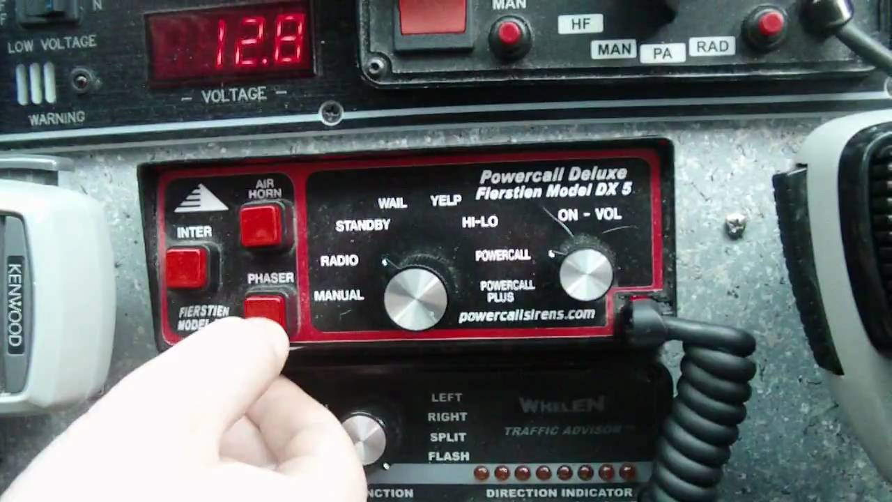 Powercall Dx5 Siren Demo