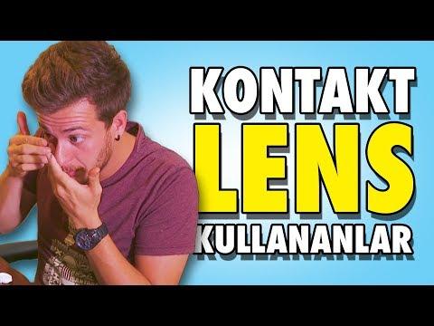 Kontakt Lens Kullananların İyi Bildiği 12 Şey