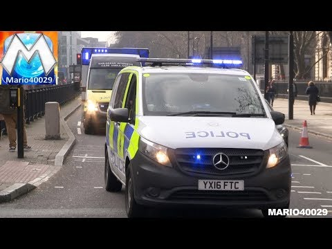 [ARV BTP clearing intersection] CATS St John Ambulance London