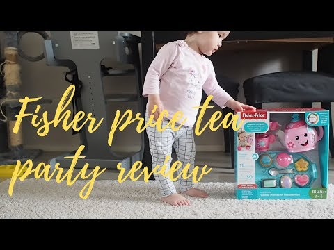 Fisher-Price Laugh & Learn Sweet Manners Tea Set Review | THE TIFF REVIEW |