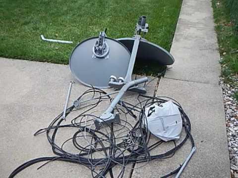 Satellite Dish Removal Chicago www.saynotodish.com  (773) 657-8413