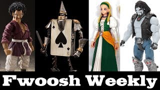 Weekly! Dragon Ball Z, DC Multiverse, Ready Setz, Wonder Land Model, Dragon Quest, and Terminator!