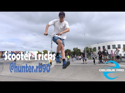 Scooter Tricks by @hunter.rb90