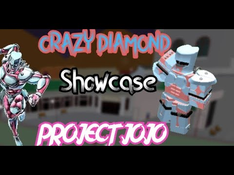 Crazy Diamond Showcase Project Jojo Roblox Youtube Jojo's bizarre adventure stand crazy diamond is one unique character. youtube