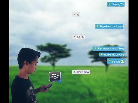 Chat Bersama Pacar | BBM | PicsArt Editing Tutorial