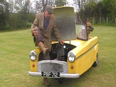 KICKSTARTING A 1960s BOND MINICAR powered by Villiers Motorcycle Engine