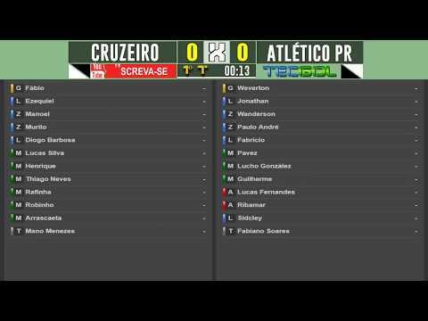CRUZEIRO 1x0 ATLÉTICO-PR/CHAPECOENSE 1x1 SPORT - NARRAÇÃO COMPLETA COM PARCIAIS DO CARTOLA FC!