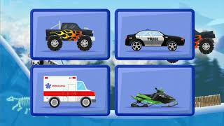 Kids car: Snow racing (Android Gameplay)