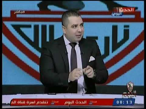 محمد الشرقاوي يوجه رسائل نارية لمخرج مباراة نادي الاهلي والداخلية