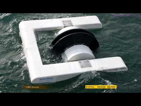 Ocean Wave Power - Resen Waves, TVMV Magasin