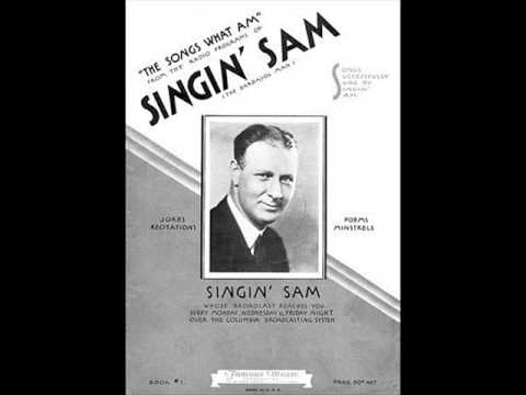 Old Time Cincinnati Radio; Singin' Sam, The Barbasol Man