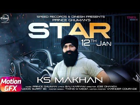Star Motion Poster - KS Makhan | Star Punjabi Song