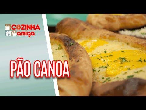 Pão Canoa (Kachapuri)  - Gabriel Barone | Cozinha Amiga (12/06/18)
