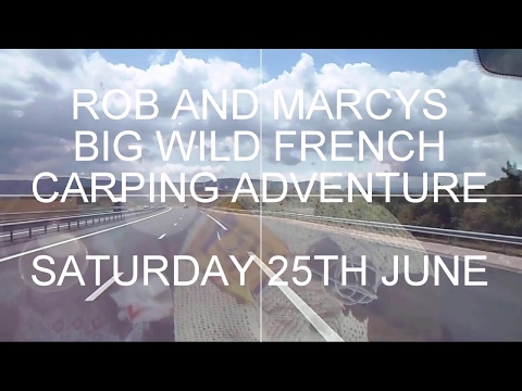 Rob n Marcy's Big wild french Carp fishing Adventure June  2016