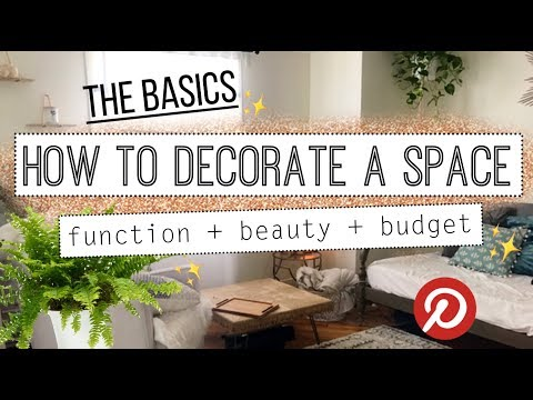 How To Decorate Your Home! Minimalist Decorating Basics 101