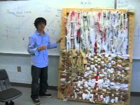 The Loom For Making Plastic Bag Blankets Youtube