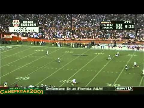 Miami Hurricanes Top 10 Plays of 2000's