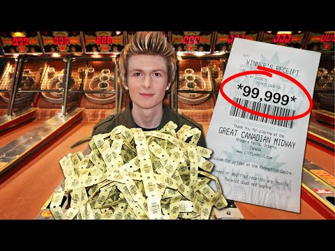 Winning BIG Jackpots At The Arcade!!!