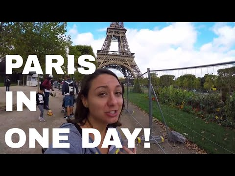 PARIS for a Day (on a budget)! Food Truck, Ice Cream, and Pot?  //  063