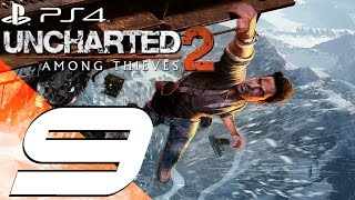 Uncharted 2 Among Thieves PS4 - Walkthrough Part 9 - Expedition & Yeti [1080p 60fps]