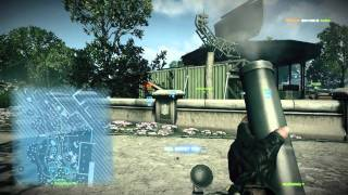 Battlefield 3 - M224 Mortar laying waste to campers in Operation Metro