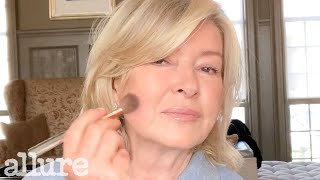 Martha Stewart's 10 Minute Morning Beauty Routine | Allure