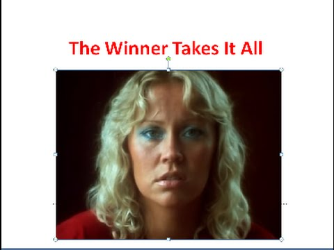 АНГЛИЙСКИЙ ЯЗЫК ПО ПЕСНЯМ. ABBA - The Winner Takes It All
