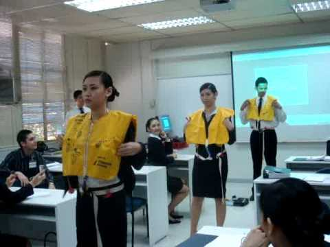 Philippine Airlines Batch 09-01 Classroom Safety Demo - YouTube