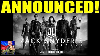 Victory! We Did It! - Zack Snyder's Justice League Announcement Reaction!