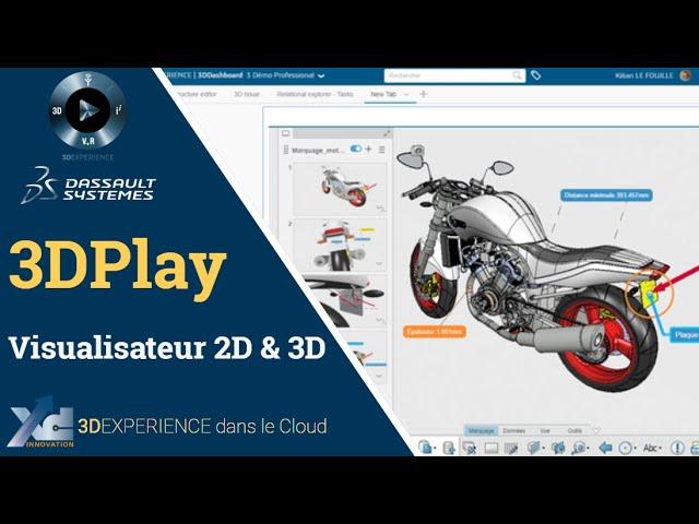 3DEXPERIENCE ® - L'outil de visualisation 3DPlay