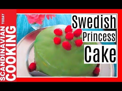How To Make Swedish Princess Cake Recipe 🍰 prinsesstårta