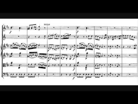 Wolfgang Amadeus Mozart - Horn Concerto No. 1, K. 412