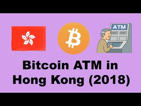 2018 Hong Kong Bitcoin ATM, i found it quite straightforward