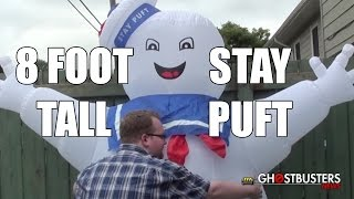 Review: 8 foot tall Stay Puft Marshmallow Man