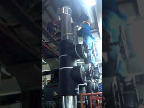 Cold Insulation Pipe Chiller PT. ALGA TEKNIK INDONESIA (ALTEKINDO)