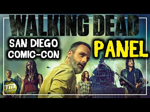 The Walking Dead Panel - San Diego Comic-Con 2018 - Directo [#SDCC #SDCC2018]