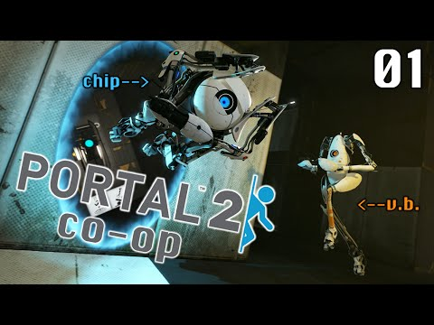 Let's Stream Portal 2 (co-op) 01