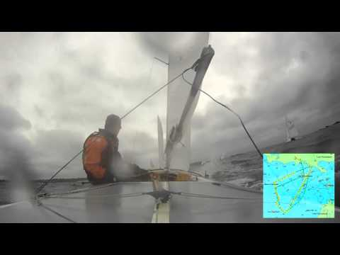 Race 3 of 6 - 18/05/2012 French National Flying Fifteen in Dinard