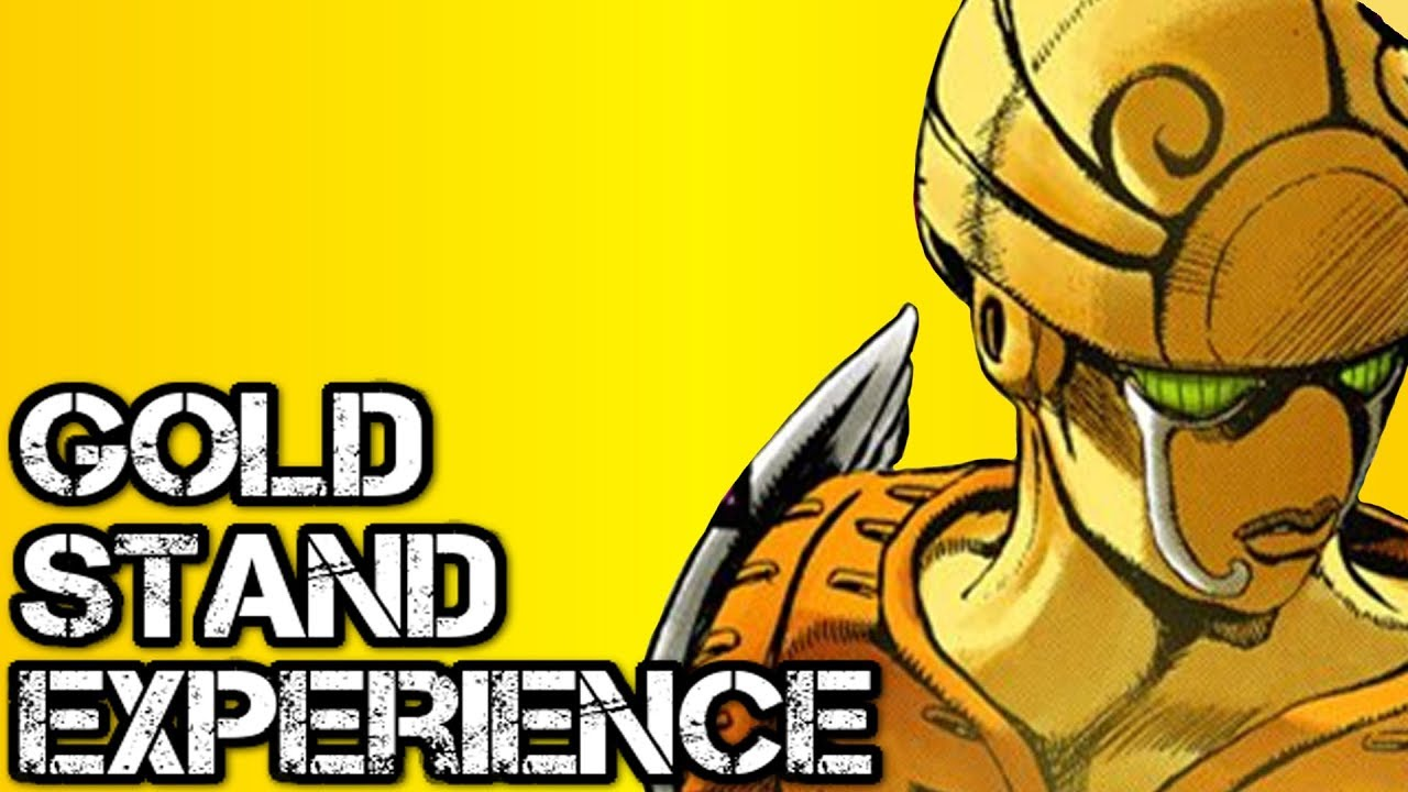 Gold Experience Stand Explained  JoJo Golden Wind  - YouTube