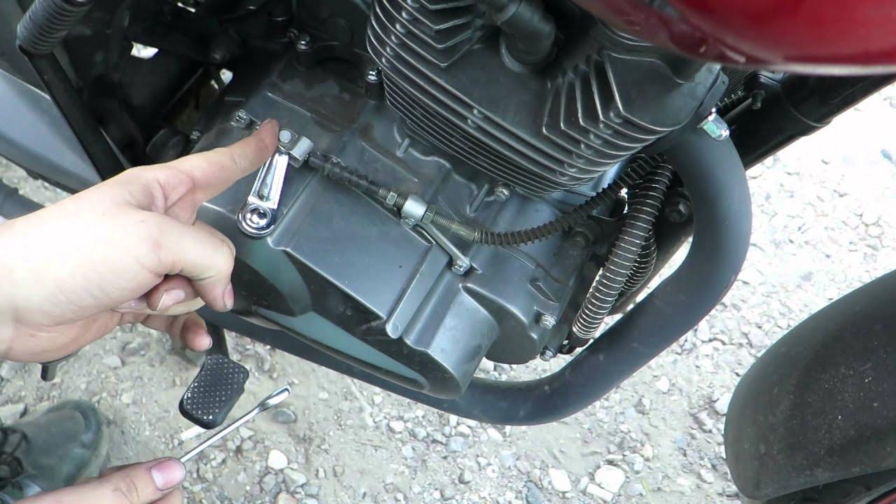 Как отрегулировать сцепление на мотоцикле Stels Flame 200