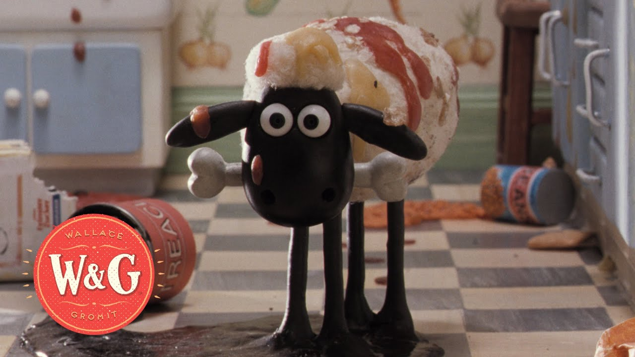 A Close Shave The Birth Of Shaun The Sheep Wallace And Gromit