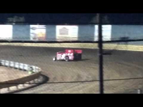 Billy The Kid Pauch at New Egypt Speedway